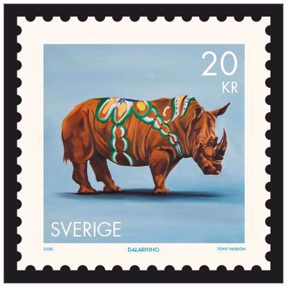 Picture of Stamp Dalarhino